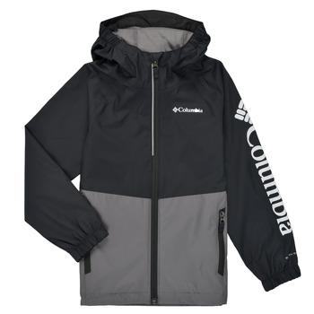 Clothing Boy Jackets Columbia DALBY SPRINGS JACKET Black / Grey