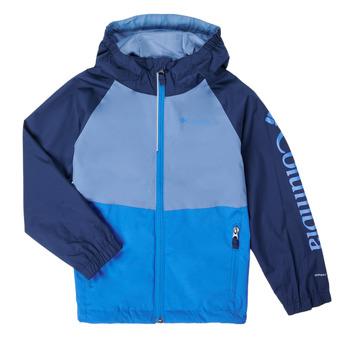 Clothing Boy Jackets Columbia DALBY SPRINGS JACKET Blue