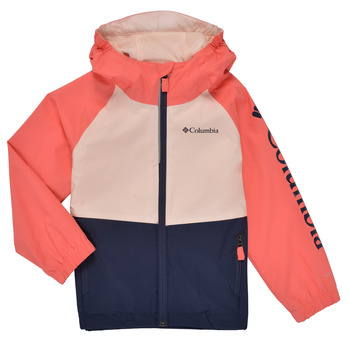 Clothing Girl Jackets Columbia DALBY SPRINGS JACKET Pink / Blue