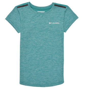 Clothing Girl Short-sleeved t-shirts Columbia TECH TREK Green