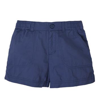 Clothing Girl Shorts / Bermudas Columbia SILVER RIDGE SHORT Marine