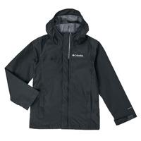 Clothing Boy Jackets Columbia WATERTIGHT JACKET Black