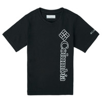 Clothing Boy Short-sleeved t-shirts Columbia HAPPY HILLS GRAPHIC Black