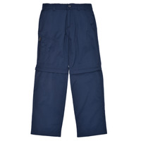 Clothing Boy 5-pocket trousers Columbia SILVER RIDGE IV CONVERTIBLE PANT Marine