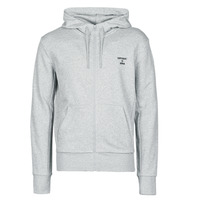 Clothing Men Sweaters Superdry TRAINING CORE SPORT ZIP HOOD Grey