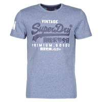 Clothing Men Short-sleeved t-shirts Superdry VL NS TEE Blue