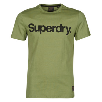 Clothing Men Short-sleeved t-shirts Superdry MILITARY GRAPHIC TEE 185 Kaki