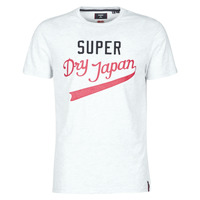 Clothing Men Short-sleeved t-shirts Superdry COLLEGIATE GRAPHIC TEE 185 Grey