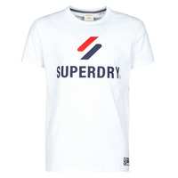 Clothing Men Short-sleeved t-shirts Superdry SPORTSTYLE CLASSIC TEE White