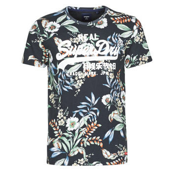 Clothing Men Short-sleeved t-shirts Superdry VL AOP TEE Multicolour
