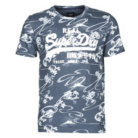Clothing Men Short-sleeved t-shirts Superdry VL AOP TEE Blue