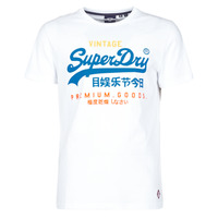 Clothing Men Short-sleeved t-shirts Superdry VL TRI TEE 220 White
