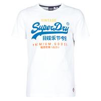 Clothing Men Short-sleeved t-shirts Superdry VL TRI TEE 220 White