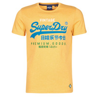 Clothing Men Short-sleeved t-shirts Superdry VL TRI TEE 220 Yellow