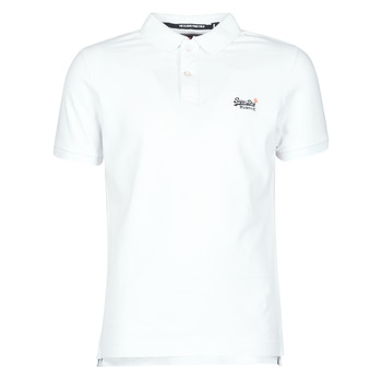 Clothing Men Short-sleeved t-shirts Superdry CLASSIC PIQUE S/S POLO White