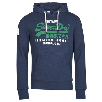Clothing Men Sweaters Superdry VL NS HOOD Blue