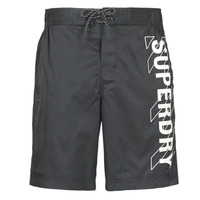 Clothing Men Trunks / Swim shorts Superdry CLASSIC BOARD SHORT 19 INCH Black