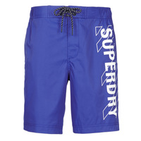 Clothing Men Trunks / Swim shorts Superdry CLASSIC BOARD SHORT 19 INCH Blue
