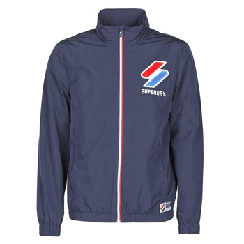 Clothing Men Macs Superdry TRACK CAGOULE Blue
