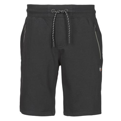 Clothing Men Shorts / Bermudas Superdry COLLECTIVE SHORT Black