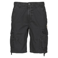 Clothing Men Shorts / Bermudas Superdry PARACHUTE CARGO SHORT Black