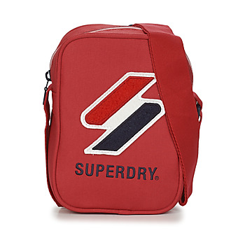 Bags Pouches / Clutches Superdry SPORTSTYLE SIDE BAG Red