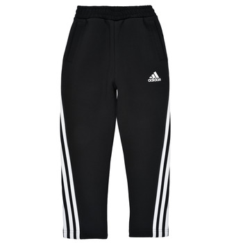 Clothing Boy Tracksuit bottoms adidas Performance B 3S TAPERED P Black