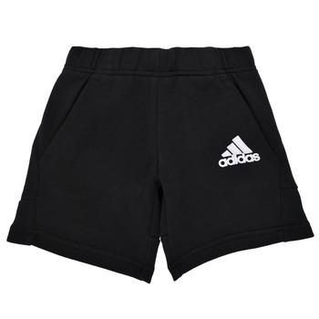 Clothing Boy Shorts / Bermudas adidas Performance B BOS SHORT Black