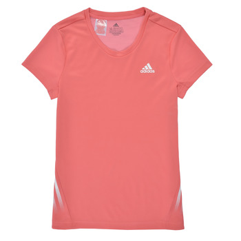 Clothing Girl Short-sleeved t-shirts adidas Performance G A.R. 3S TEE Pink