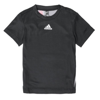 Clothing Boy Short-sleeved t-shirts adidas Performance B A.R. TEE Black