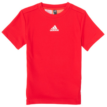 Clothing Boy Short-sleeved t-shirts adidas Performance B A.R. TEE Red