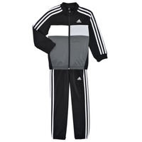 Clothing Boy Tracksuits adidas Performance B TIBERIO TS Black / Grey