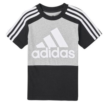Clothing Boy Short-sleeved t-shirts adidas Performance B CB T Black / Grey