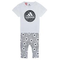 Clothing Girl Sets & Outfits adidas Performance TIGHT SET White