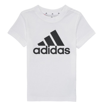 Clothing Boy Short-sleeved t-shirts adidas Performance B BL T White