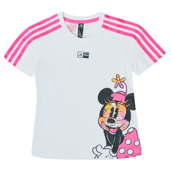 Clothing Girl Short-sleeved t-shirts adidas Performance LG DY MM TEE White