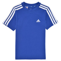 Clothing Boy Short-sleeved t-shirts adidas Performance B 3S T Blue