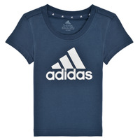 Clothing Girl Short-sleeved t-shirts adidas Performance G BL T Marine