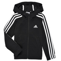 Clothing Girl Sweaters adidas Performance G 3S FZ HD Black