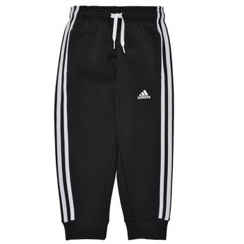 Clothing Boy Tracksuit bottoms adidas Performance B 3S FL C PT Black