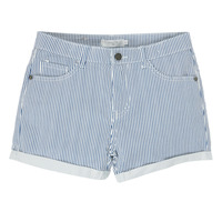 Clothing Girl Shorts / Bermudas Deeluxe BILLIE White / Blue