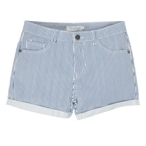 Clothing Girl Shorts / Bermudas Deeluxe BILLIE White / Blue