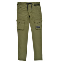 Clothing Boy Cargo trousers Deeluxe WILLY Kaki