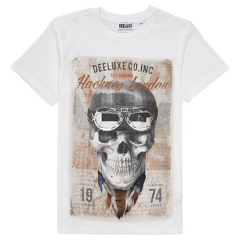Clothing Boy Short-sleeved t-shirts Deeluxe CLEM White