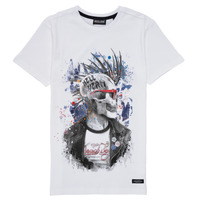 Clothing Boy Short-sleeved t-shirts Deeluxe ENFIELDON White