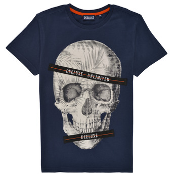Clothing Boy Short-sleeved t-shirts Deeluxe RUDYSON Marine