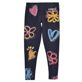 Clothing Girl Leggings Desigual 21SGKK03-5000 Marine