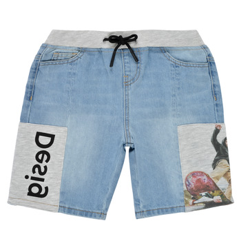 Clothing Boy Shorts / Bermudas Desigual 21SBDD02-5053 Blue