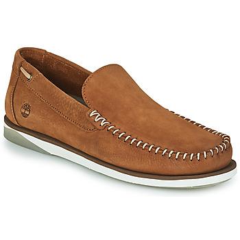 Shoes Men Boat shoes Timberland ATLANTIS BREAK VENETIAN Cognac