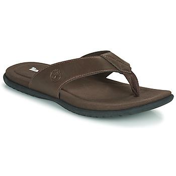 Shoes Men Flip flops Timberland KESLER COVE THONG Brown